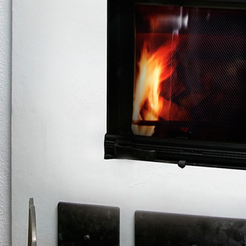 Paint for fireplaces and firewalls