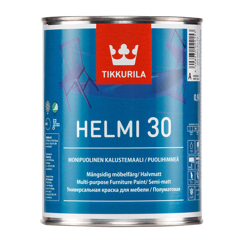 Хелми 30 0,9л краска для мебели