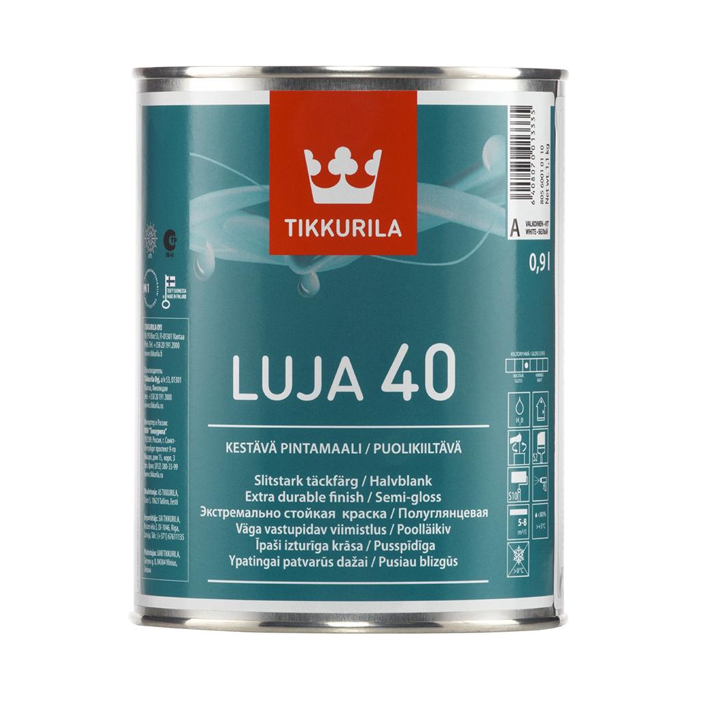 Луя 40 покрывная краска, полуглянцевая - Luja 40