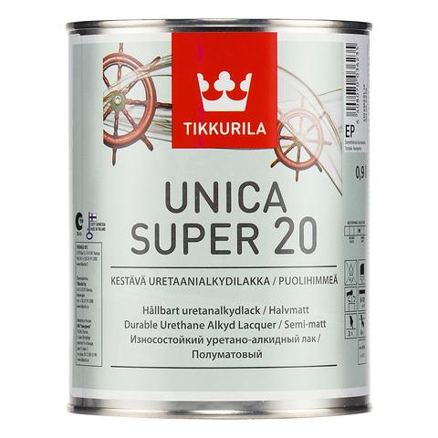 Уника Супер лак, полуматовый - Unica Super