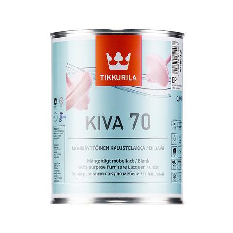 Кива 70, лак для мебели, глянцевый - Kiva 0,9л
