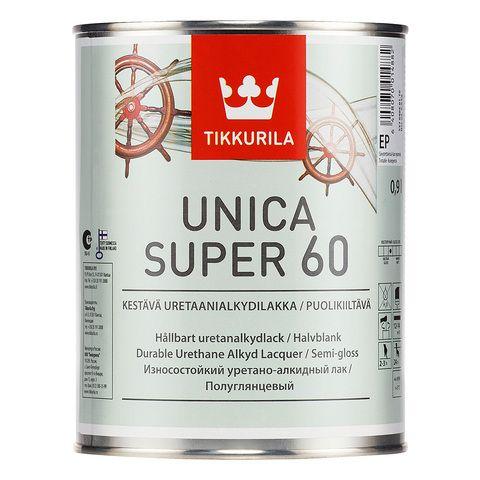 Уника Супер лак, полуглянцевый - Unica Super