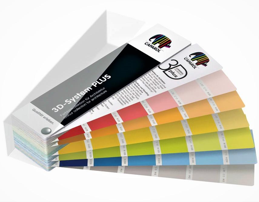 3D-System PLUS Колекція кольорів для інтер'єрів і фасадів