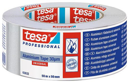Стрічка алюмінієва срібна Tesa