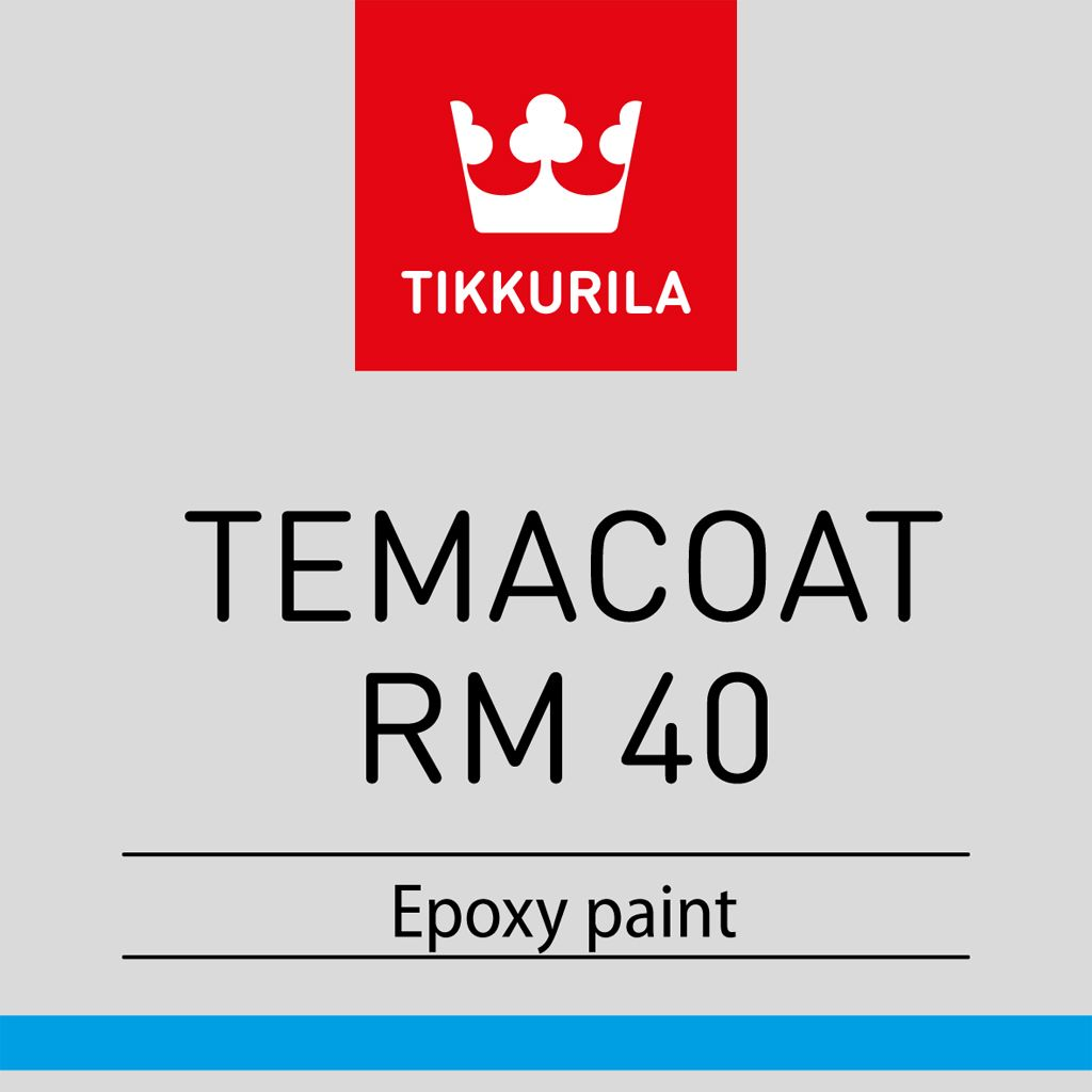 Temacoat RM 40 THL (металлик)