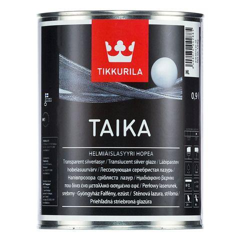 Тайка одноцветная перламутровая лазурь - Taika KL (золотистая) 1л