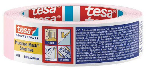 Захисна стрічка для фарбування Precision mask Sensitive Tesa
