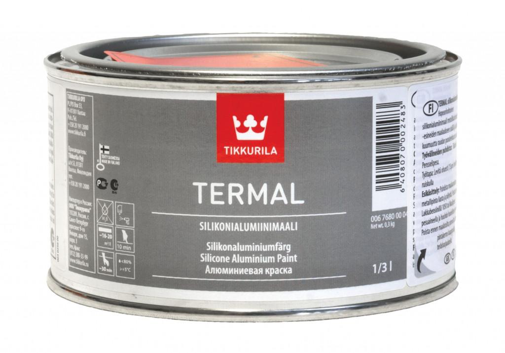 Термал силіконалюмінєва фарба