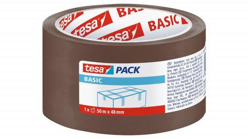 Пакувальна стрічка коричнева Tesa
