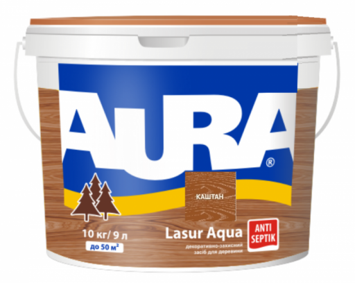 AURA Lasur Aqua  (каштан)